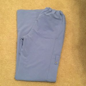 Dickies periwinkle blue scrub bottoms